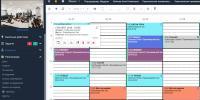 Очень удобное расписание связанное с сайтом и приложением