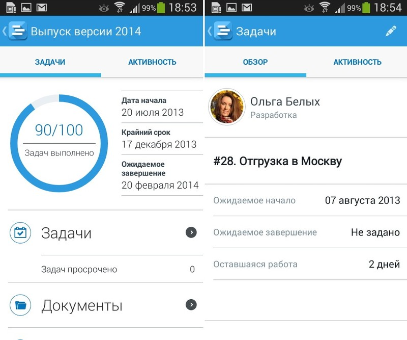Comindware Project для Android