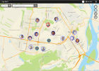 Реальное местоположение каждого сотрудника на карте