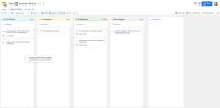 Канбан-доска в Google Tables