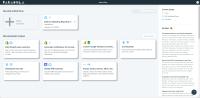 Список пользовательских проектов в Parabolla