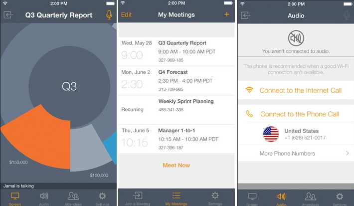 GoToMeeting для iOS