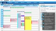 Screenshot Bluejet CRM