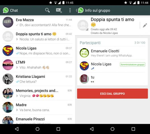 WhatsApp Messenger для Android