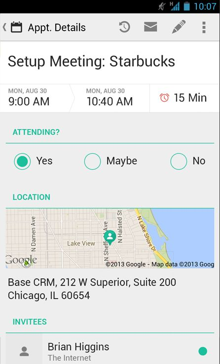 Base CRM для Android