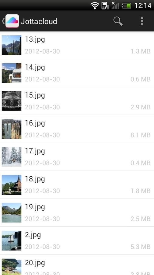 Jottacloud для Android