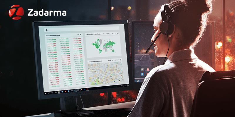Новая услуга отZadarma— актуализация базы данных