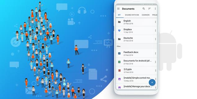 Приложение ONLYOFFICE Документы стало доступно в Google Play