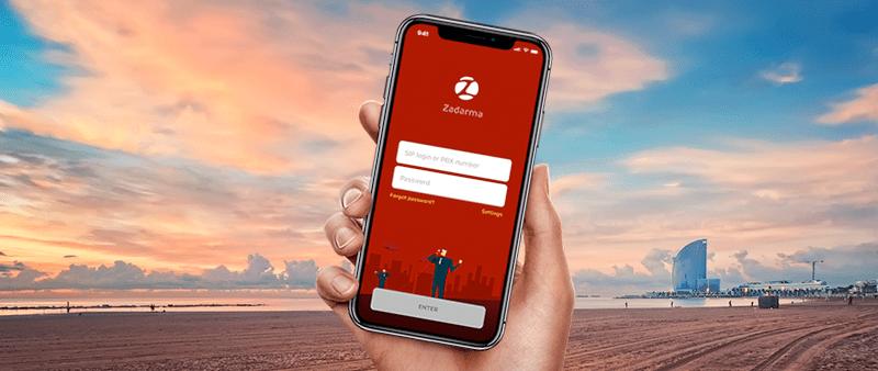 Zadarma обновляет приложение для iOS