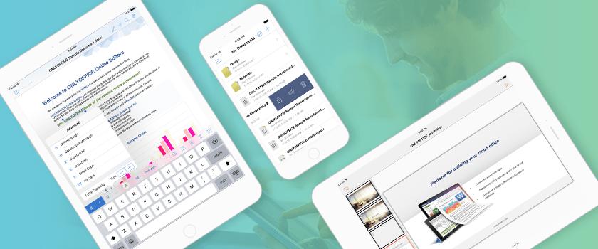 ONLYOFFICE обновили бесплатные редакторы документов для iOS