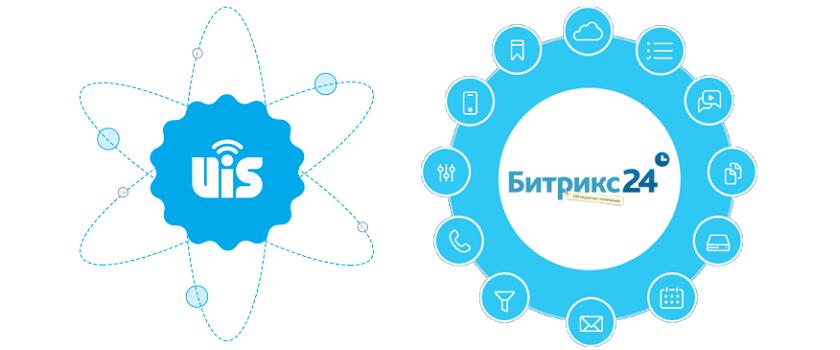 UIS интегрировался с CRM Битрикс24