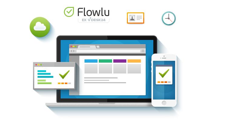 Flowlu обновил учет времени, проектов и счетов